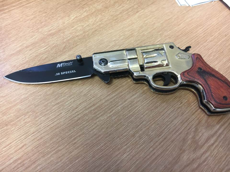 311 weapons collected from Southend's amnesty bin