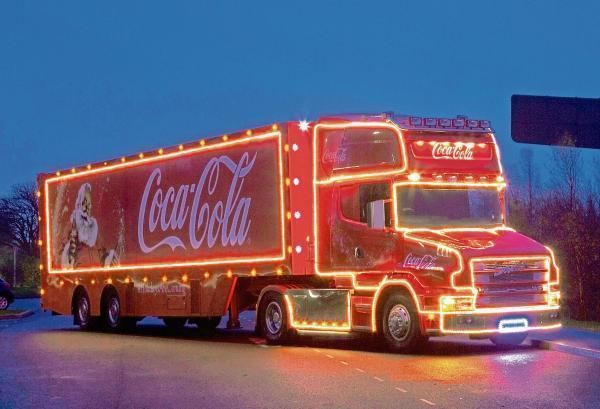 Coca Cola Christmas.Holidays Are Coming Coca Cola Christmas Truck Will Pull Up
