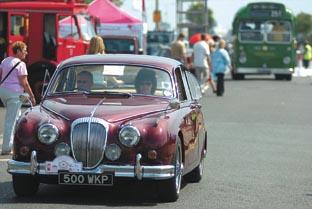 Classic cars on show tomorrow