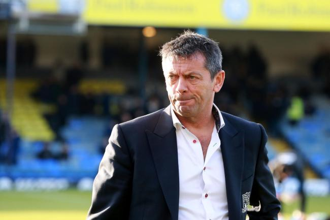 Phil Brown - keen to complete a loan deal for a Tottenham Hotspur youngster