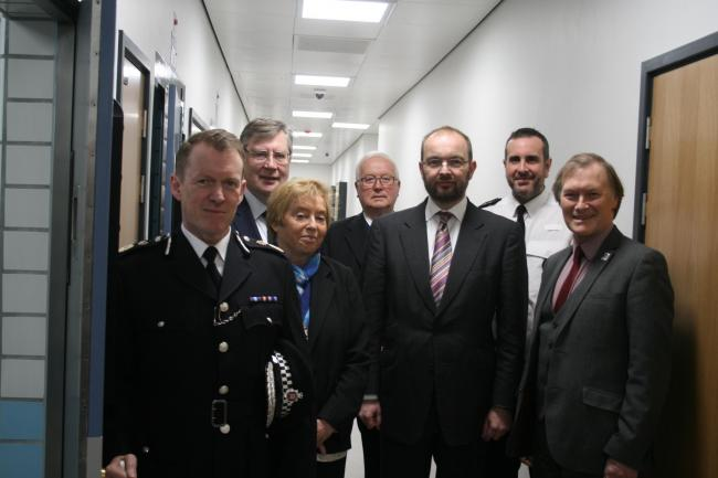 New custody suite opens at Southend Police Station