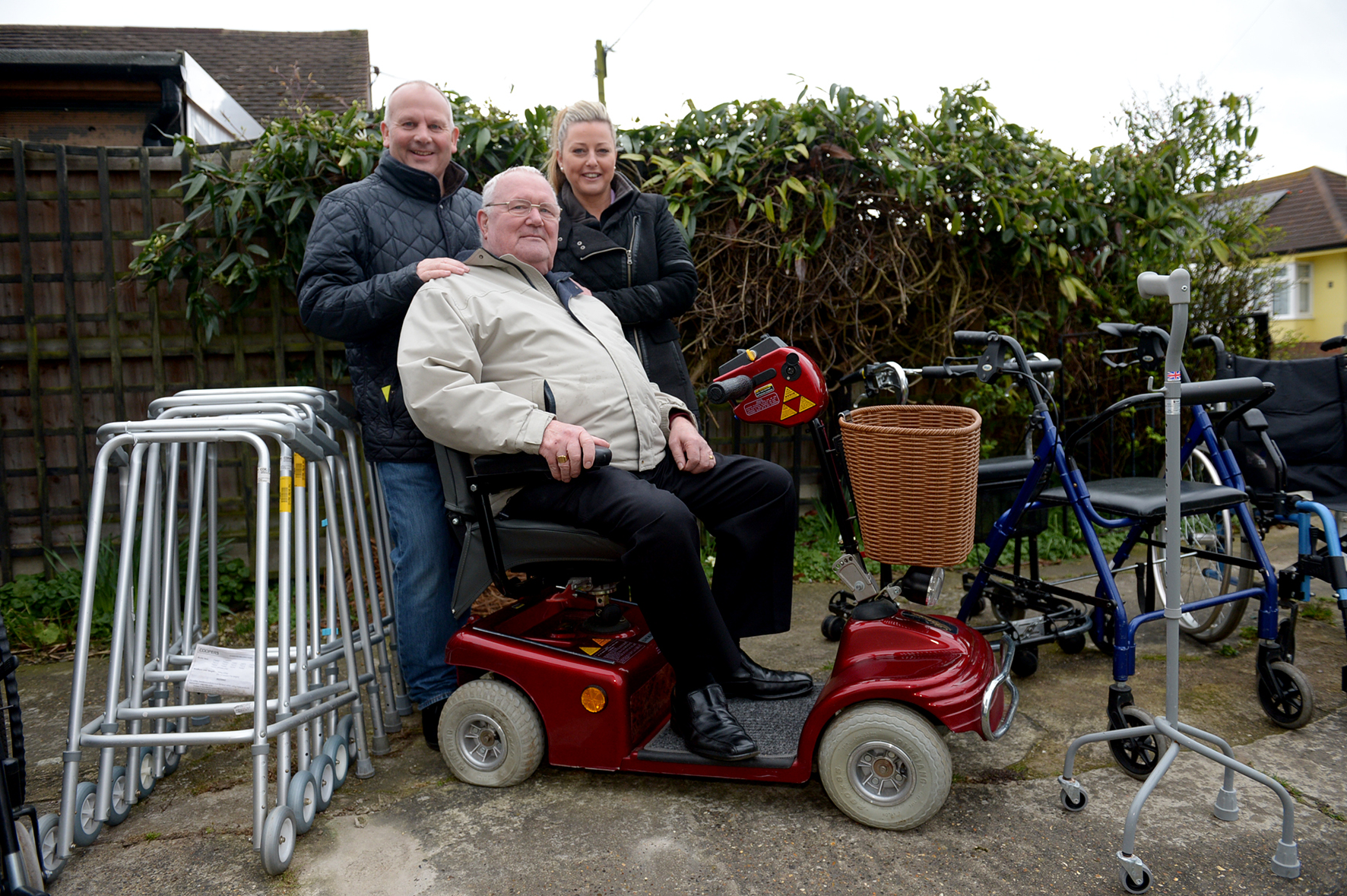 Wheelchairs Donated