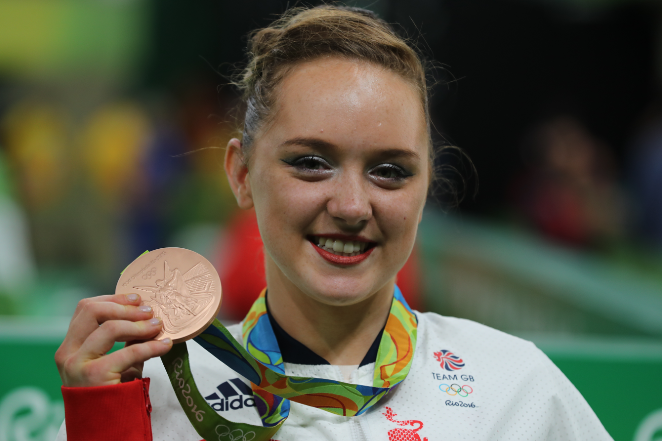 Heartbroken - Amy Tinkler has been ruled out with torn ankle ligaments
