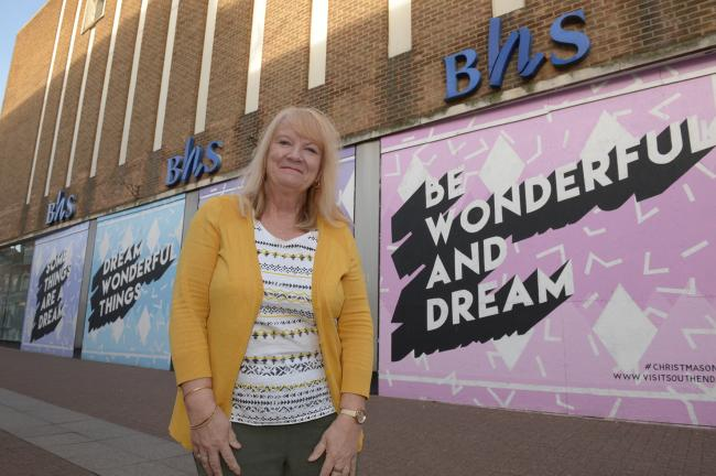Ann Holland.BHS High Street Southend.Ann Holland has welcomed news that Primark are to take over the former BHS store. ..