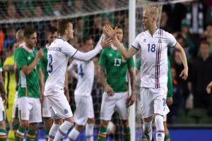 Magnusson's first-half effort proves enough as Iceland edge Republic of Ireland
