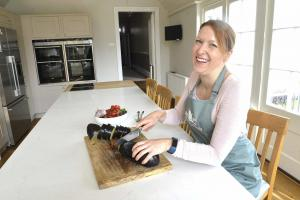 Claire Barham runs the Green Apron Cookery School