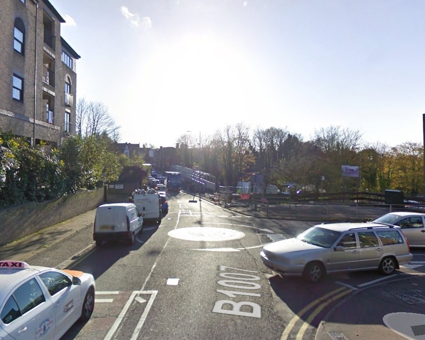 Emergency road works causing traffic problems in Billericay