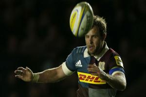 Nick Evans excels in final Twickeham Stoop outing as Harlequins see off Wasps