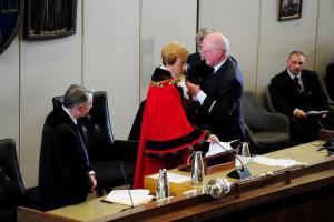 Southend swear in new mayor Fay Evans