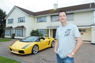 Rick Hill selling his house with the car thrown in