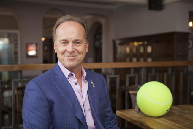 Excited about British tennis - John Lloyd