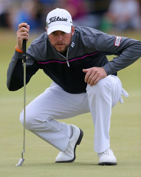 Impressive - Matt Southgate completed the Open Championship's third round in 67 strokes