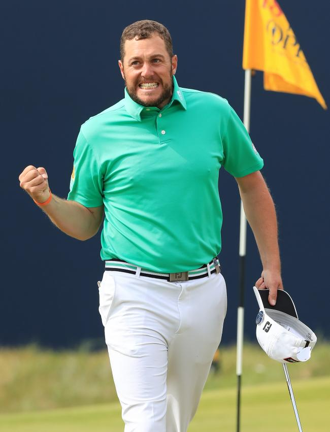 Great show - Matt Southgate finished joint sixth at The Open