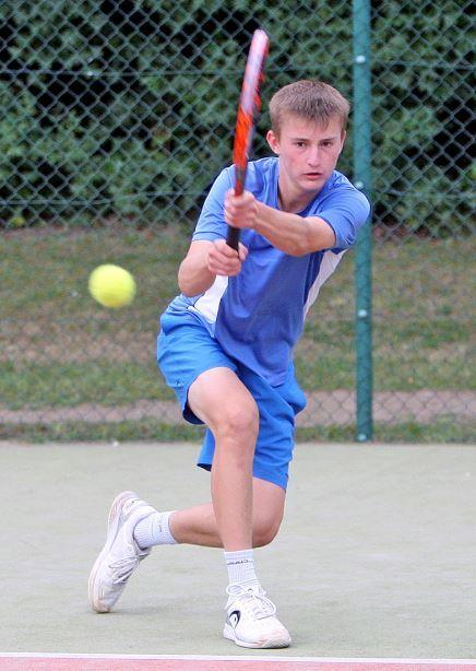 Trio of titles - for tennis star Matt Doe