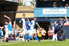 Firing home - Southend United's Michael Kightlly