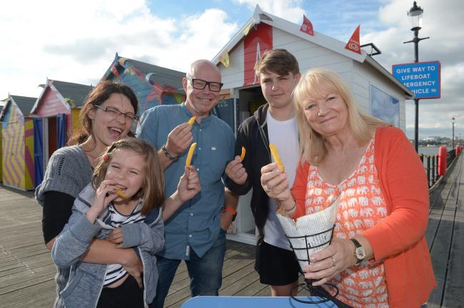 Chips return to Southend Pier after 12-year absence