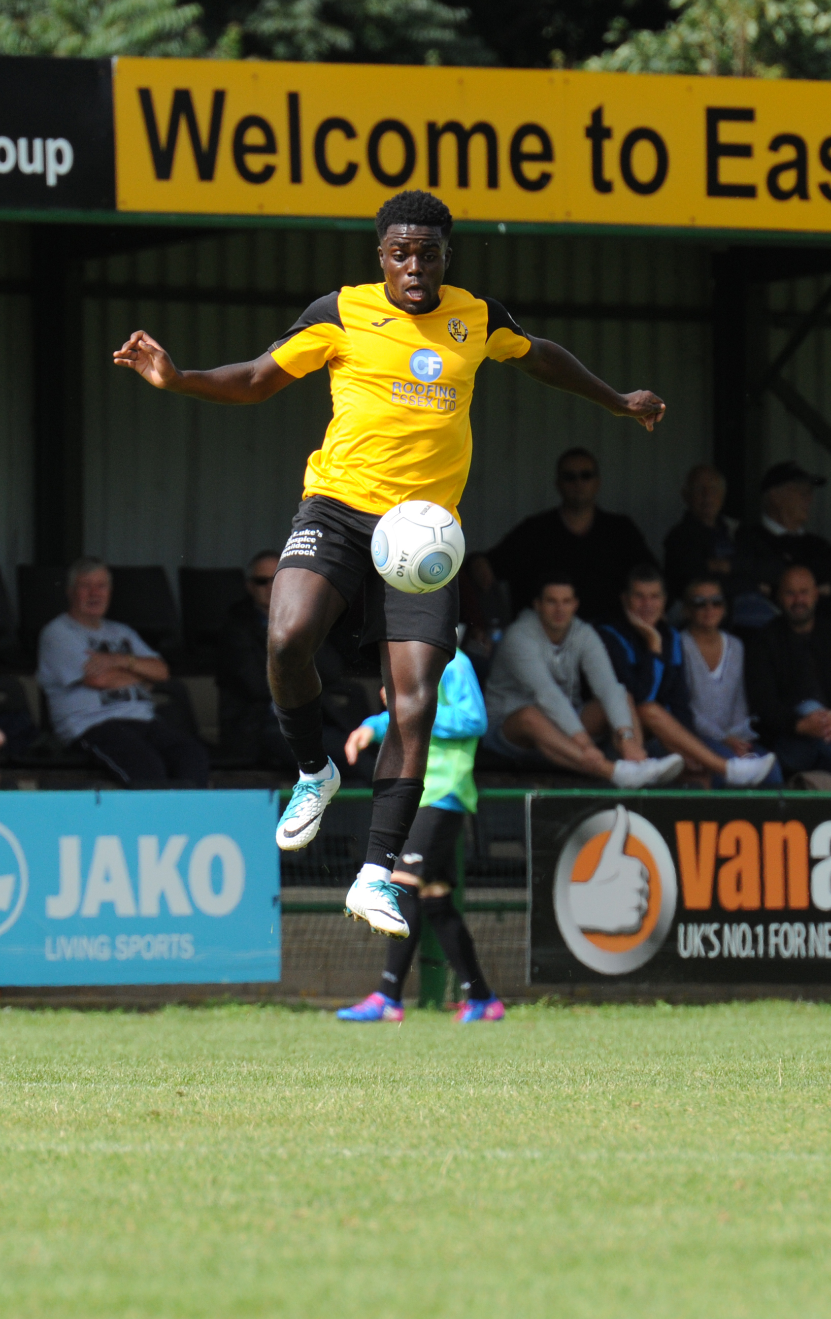 Tricky Agyemang not surprised at fast start to life at East Thurrock