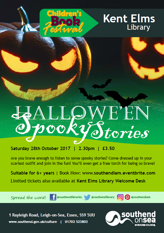 Children's Book Festival: Hallowe'en Spooky Stories