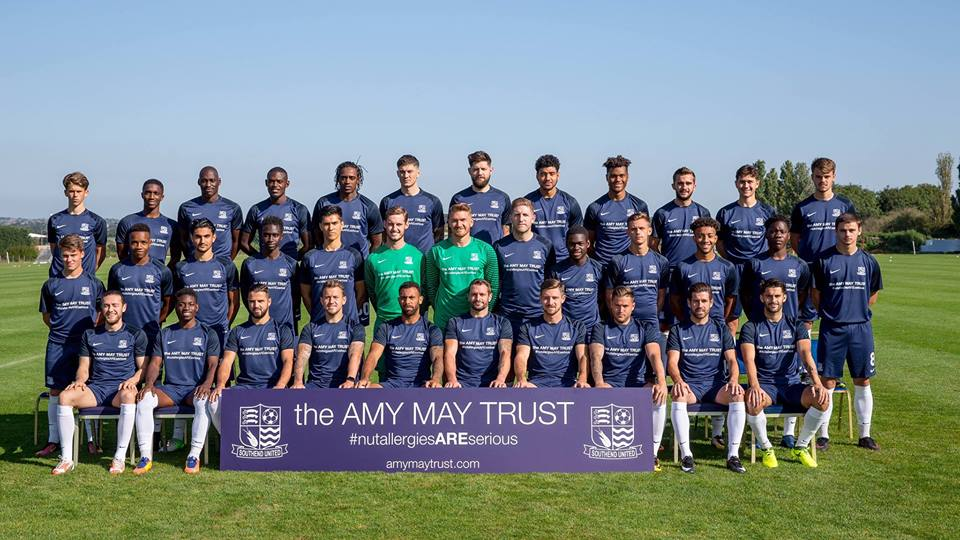 The 2017/18 Southend United squad
