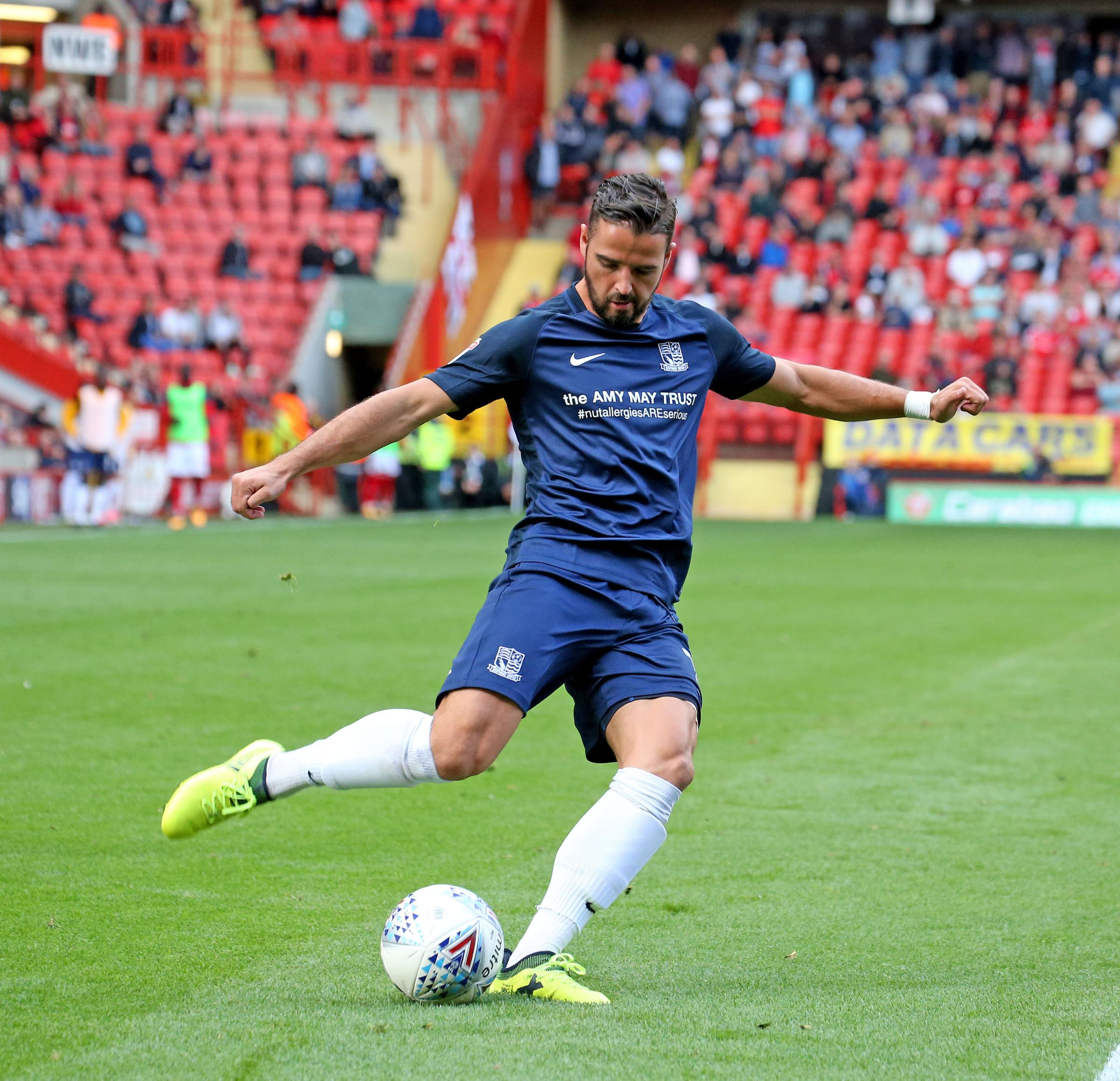 Determined to impress - Southend United winger Stephen McLaughlin