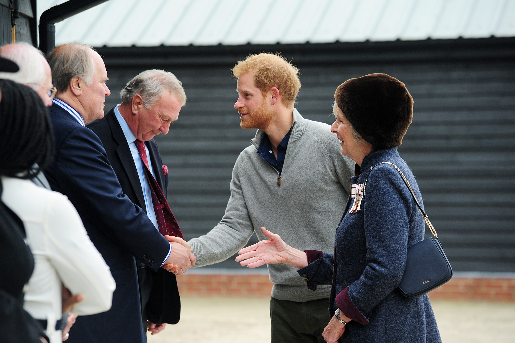 Videos and pictures: Prince Harry visits the Wilderness Foundation in Chatham Green
