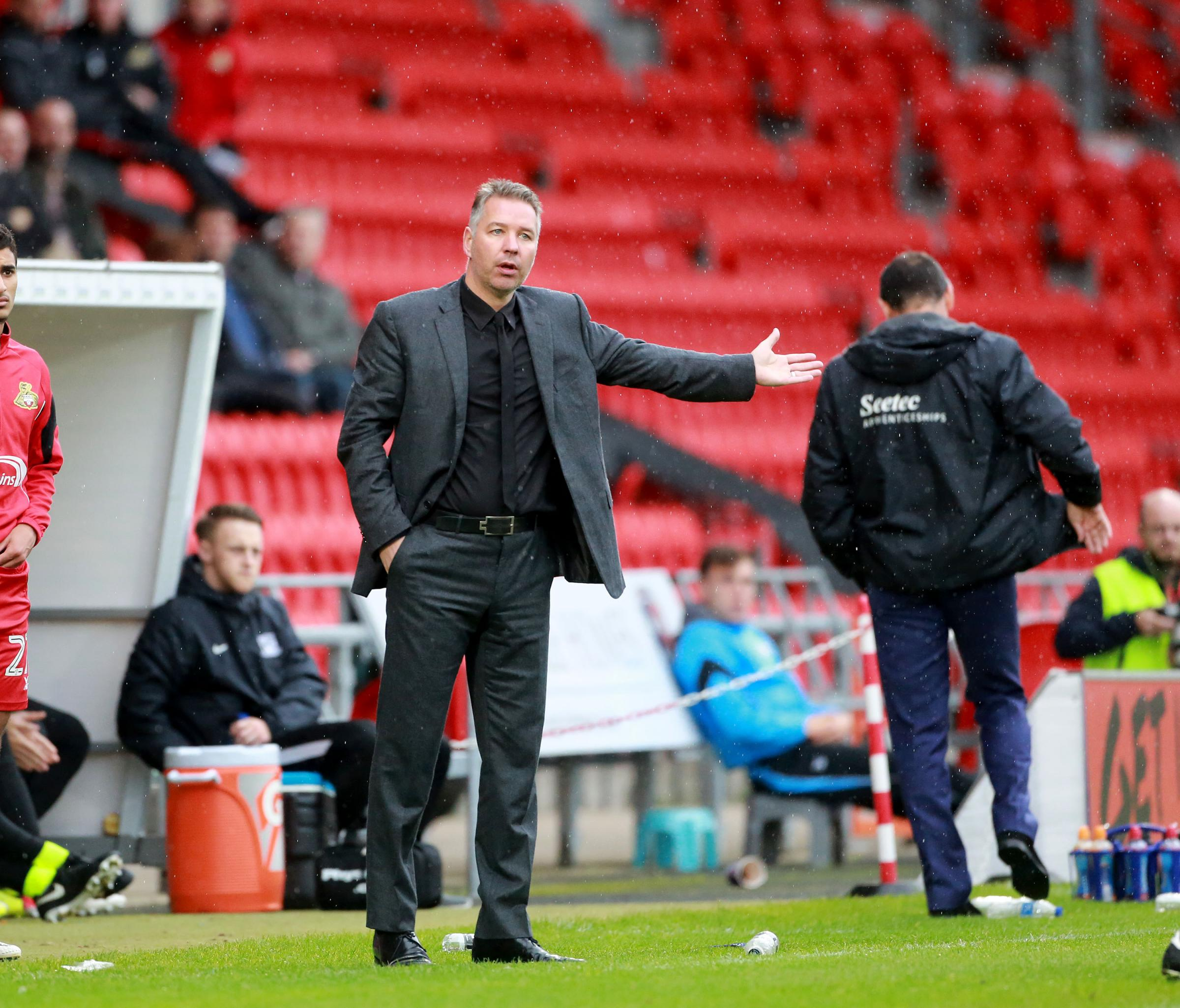 Heading to Roots Hall - Doncaster Rovers manager Darren Ferguson
