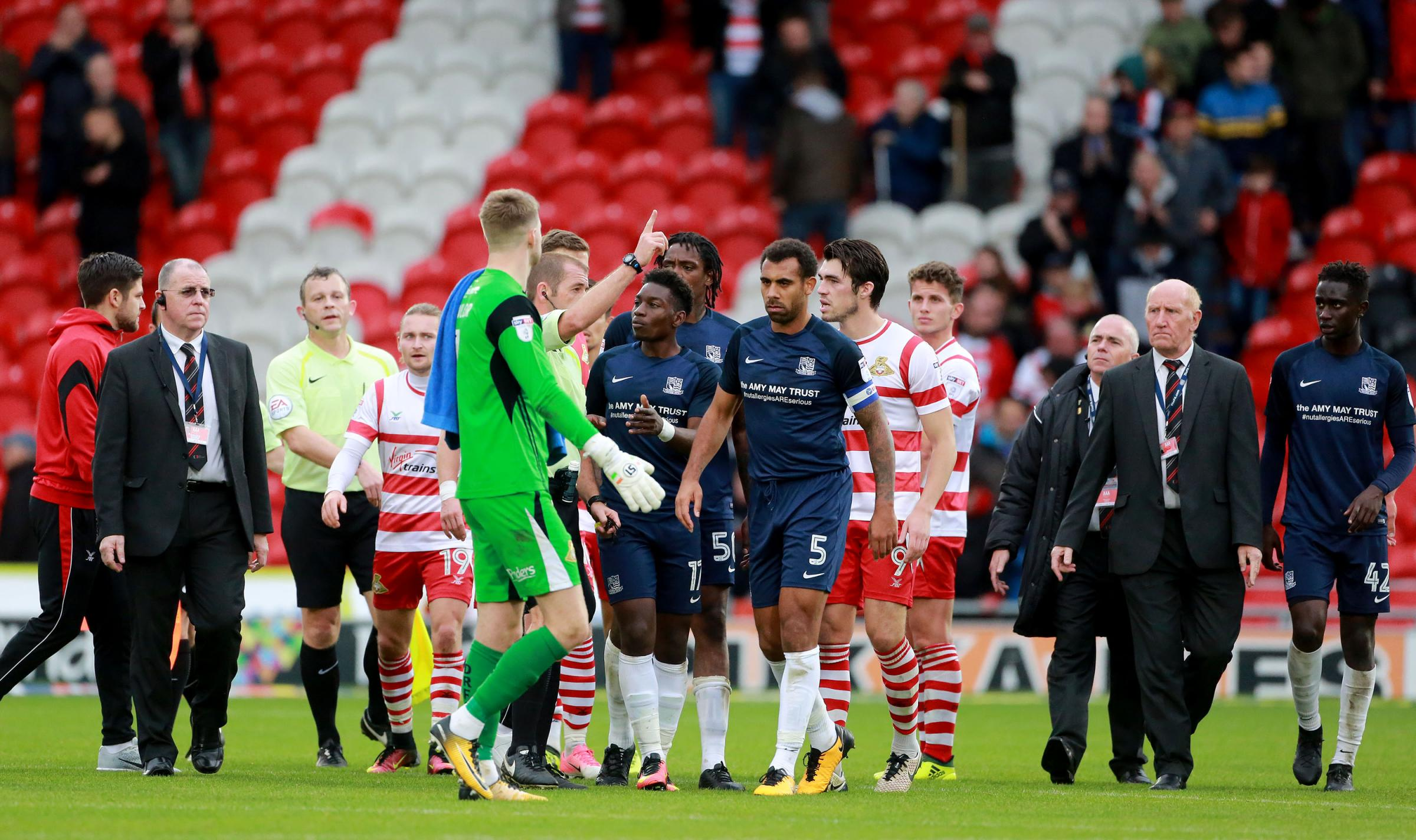 Sent off - Southend United captain Anton Ferdinand