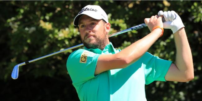Promise - US Open competitor Matt Southgate has received the backing of Richard McEvoy
