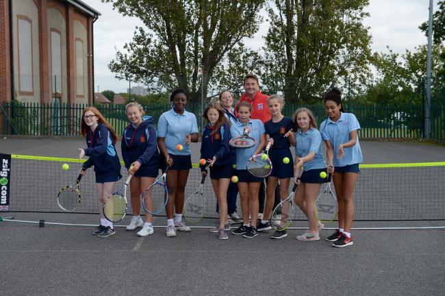 westcliff high school for girls secure tennis success   echo