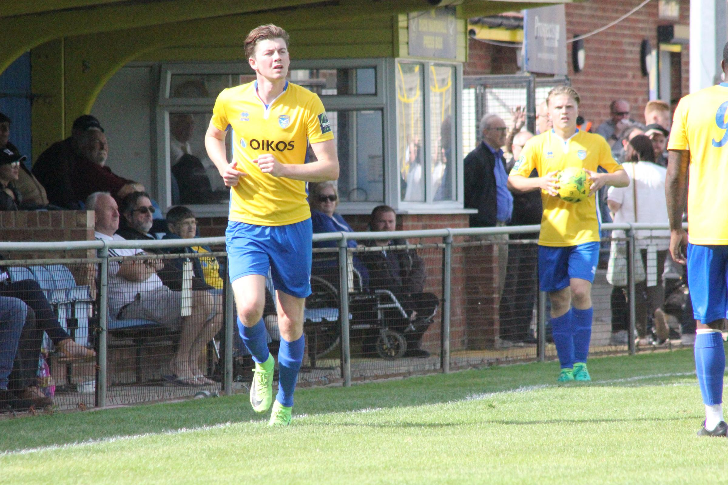 On a roll - Canvey Island striker George Sykes has 12 goals so far this season	  		Picture: KJA SPORTS IMAGES