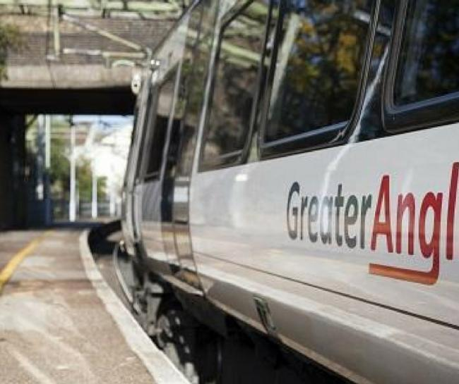 Child's balloon causing delays on Greater Anglia trains