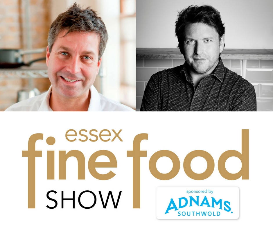 James Torode and James Martin on the menu for 2018 Essex Fine Food Show