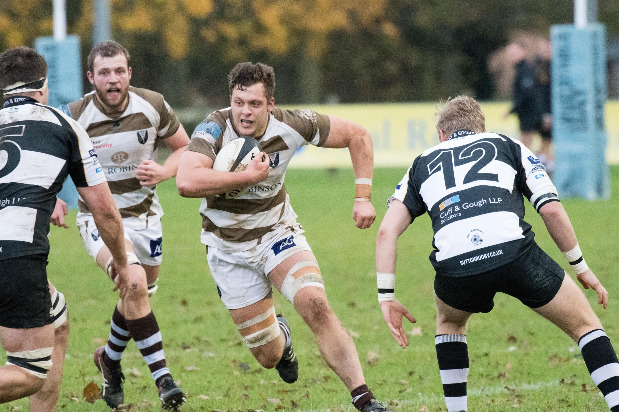 Switching to centre - Southend Saxons' George Wood