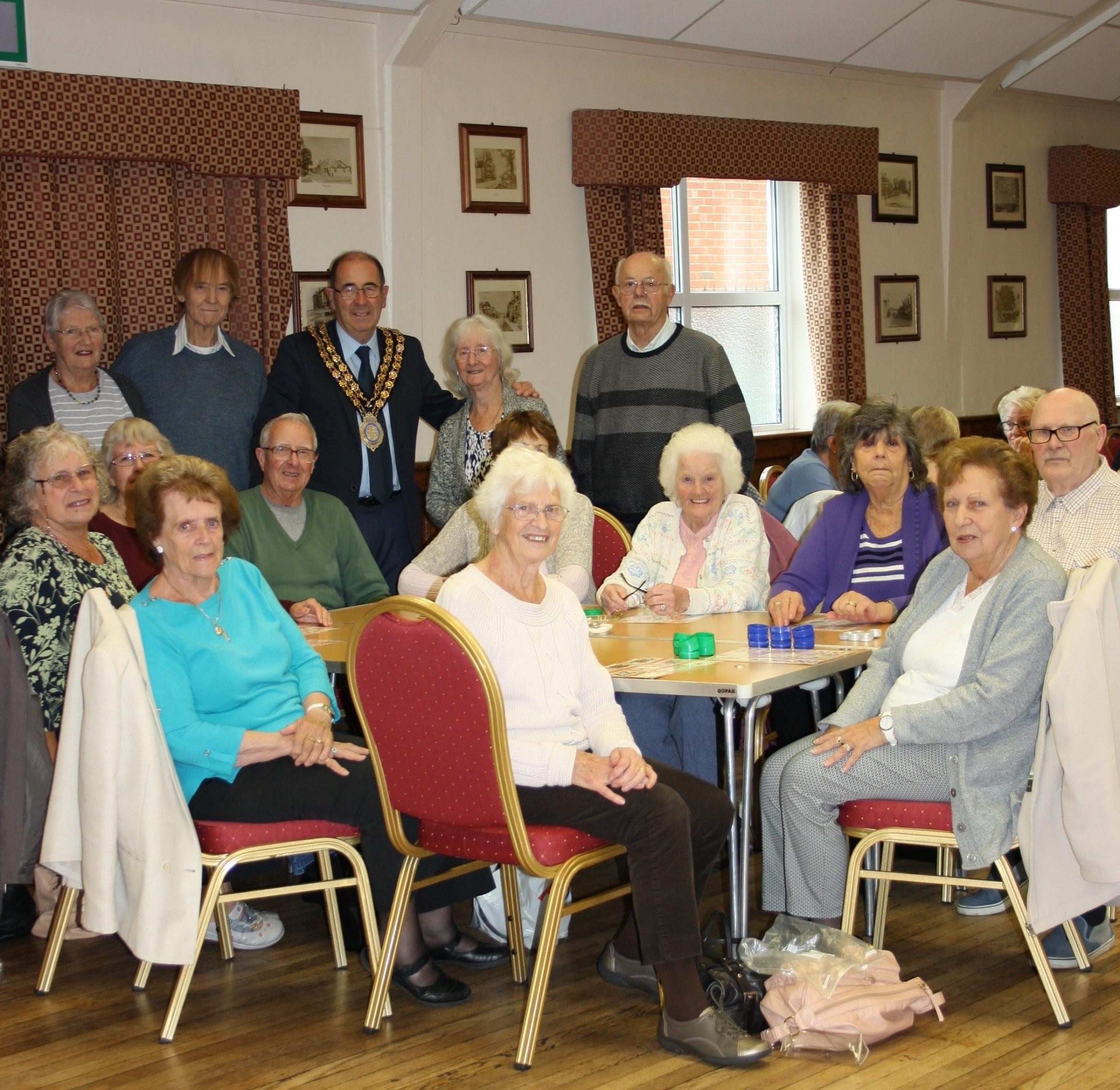 Senior citizen social groups