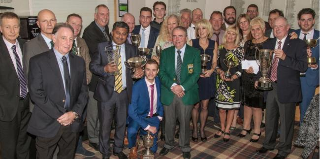 Trophy haul - Boyce Hill Golf Club members were rewarded for their efforts at the club's presentation night