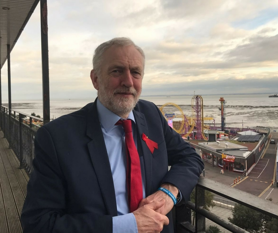 Jeremy Corbyn will end rough slepping