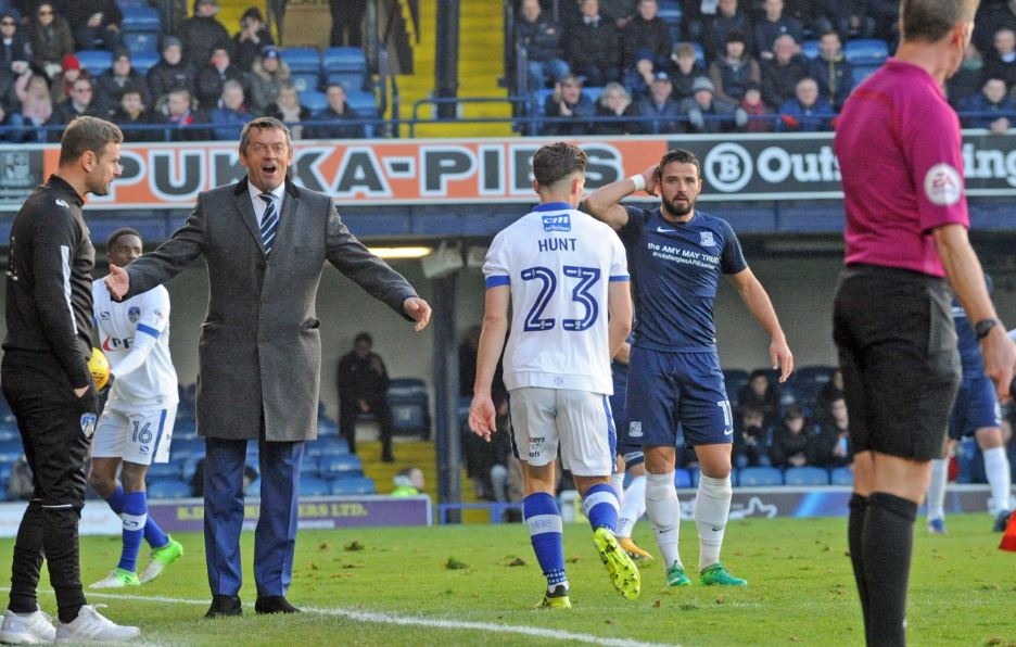 Keeping quiet - Blues boss Phil Brown