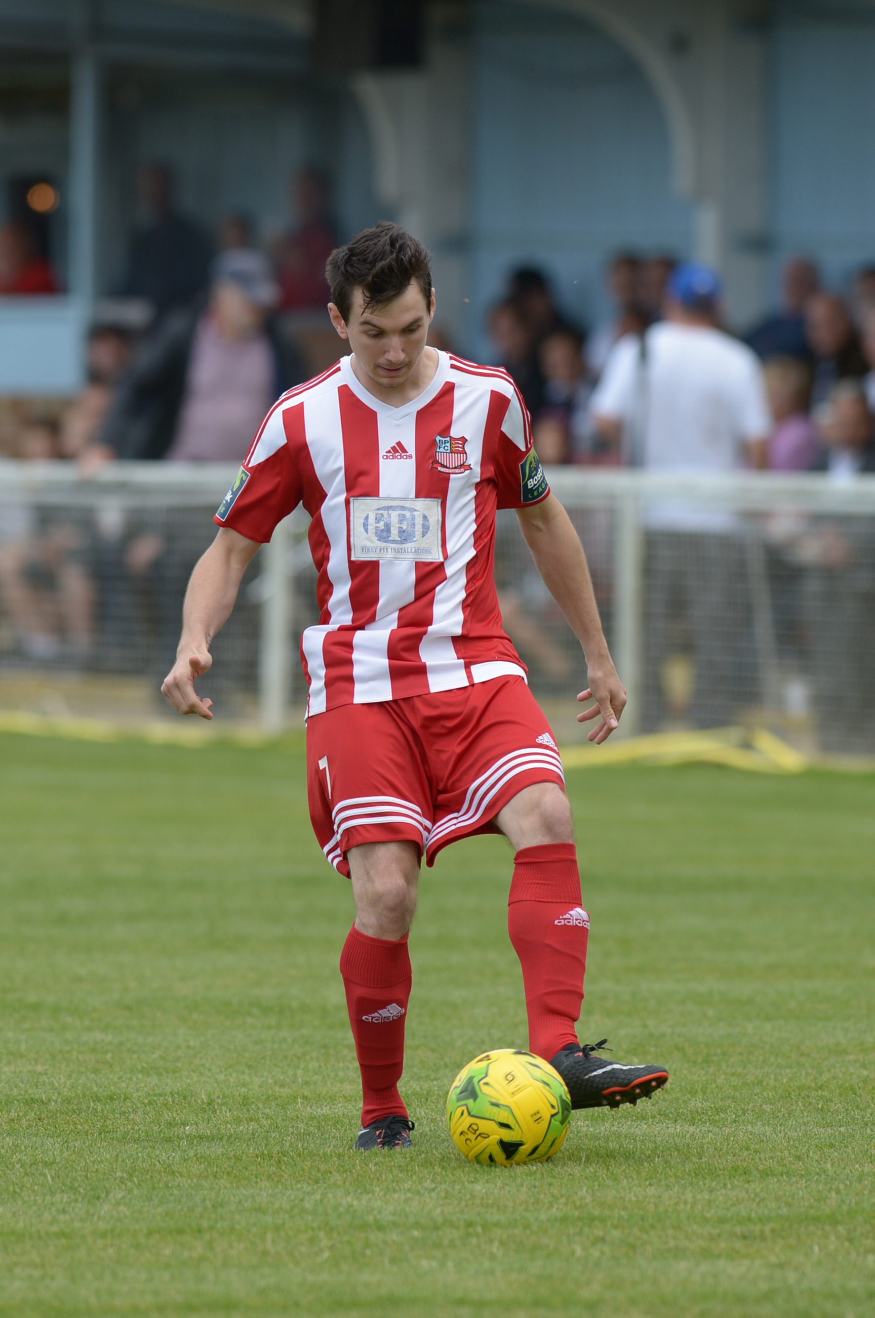 Doubt - Bowers defender James Thomas
