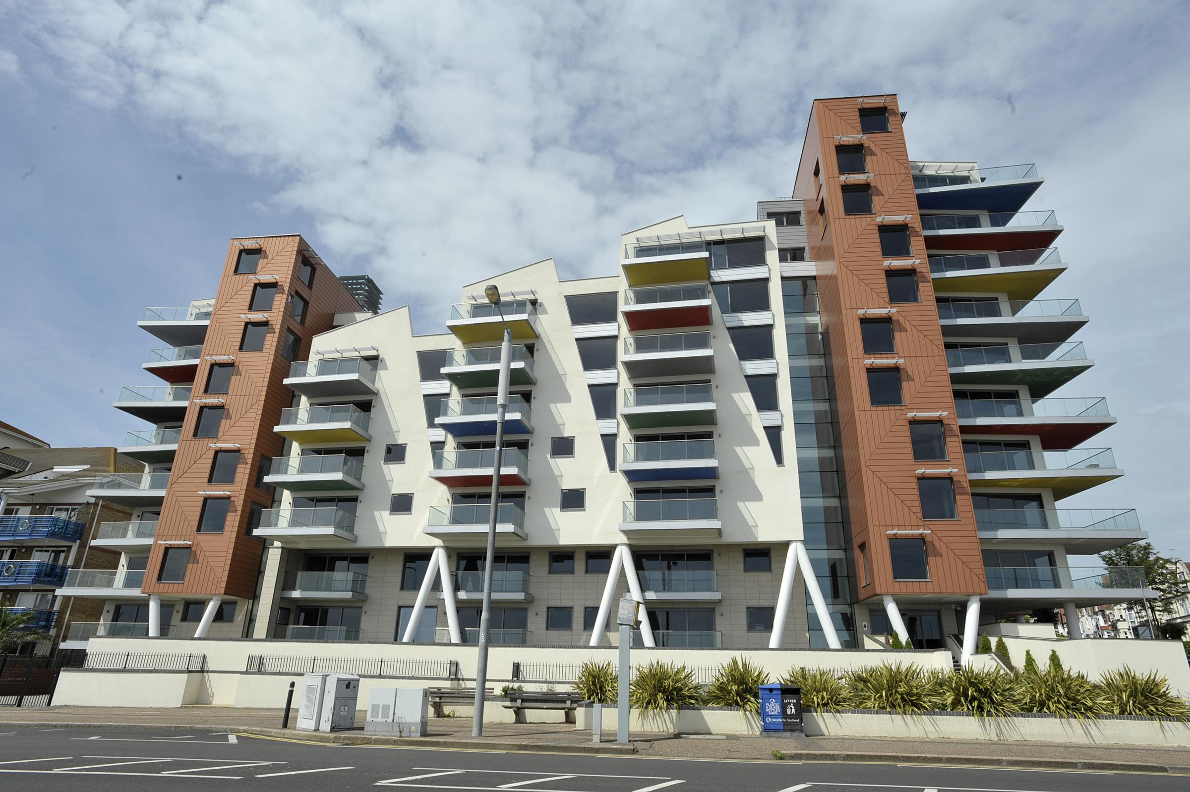 Seafront flats set to grow with rooftop apartments