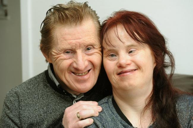 Pic Luan Marshall 29/12/2017, Maryanne and Tommy Pilling, the worlds longest married couple with Downs Syndrome