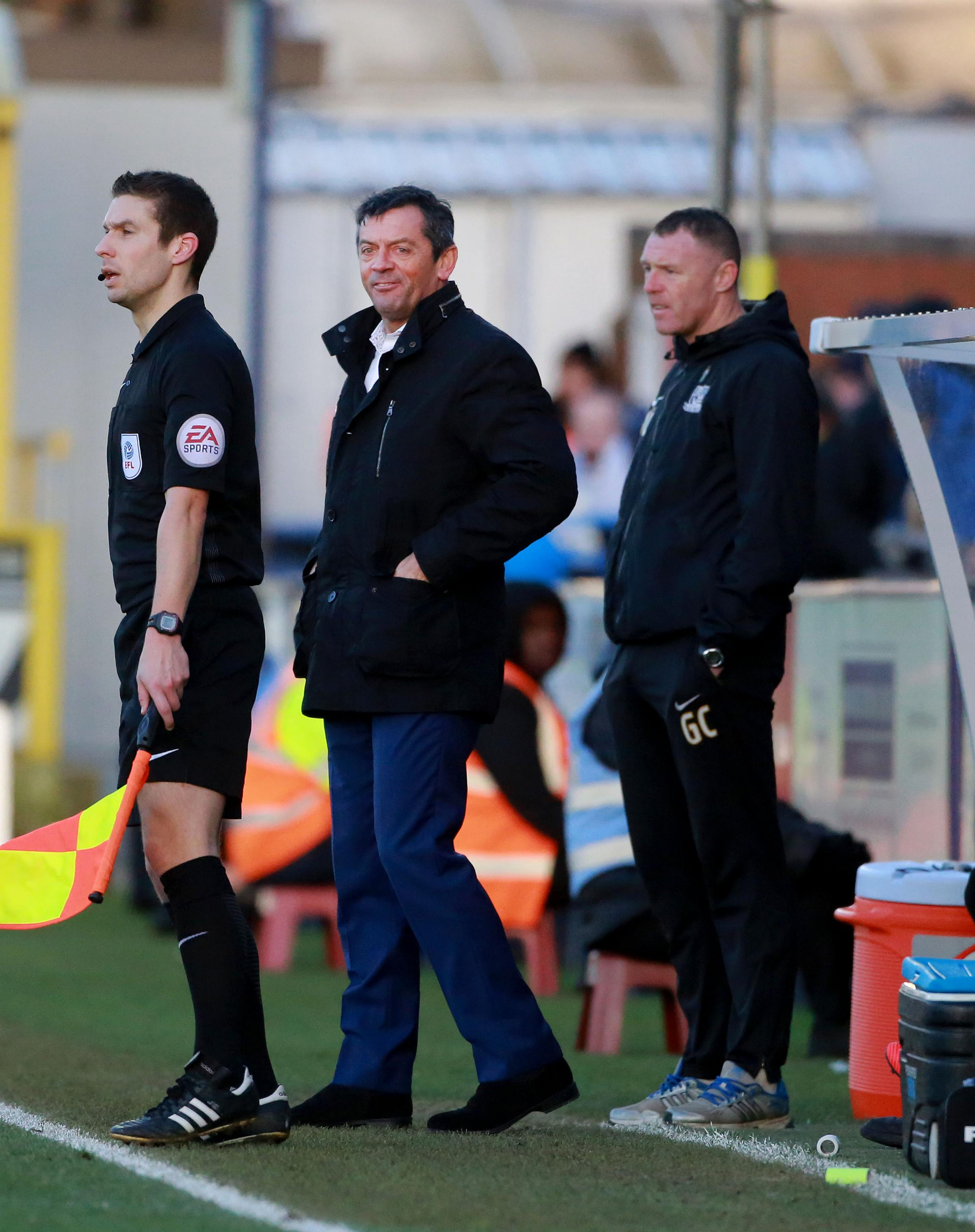 Under pressure - Southend United manager Phil Brown