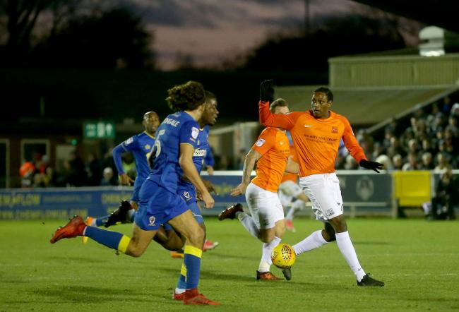 Leaving Southend United - striker Nile Ranger