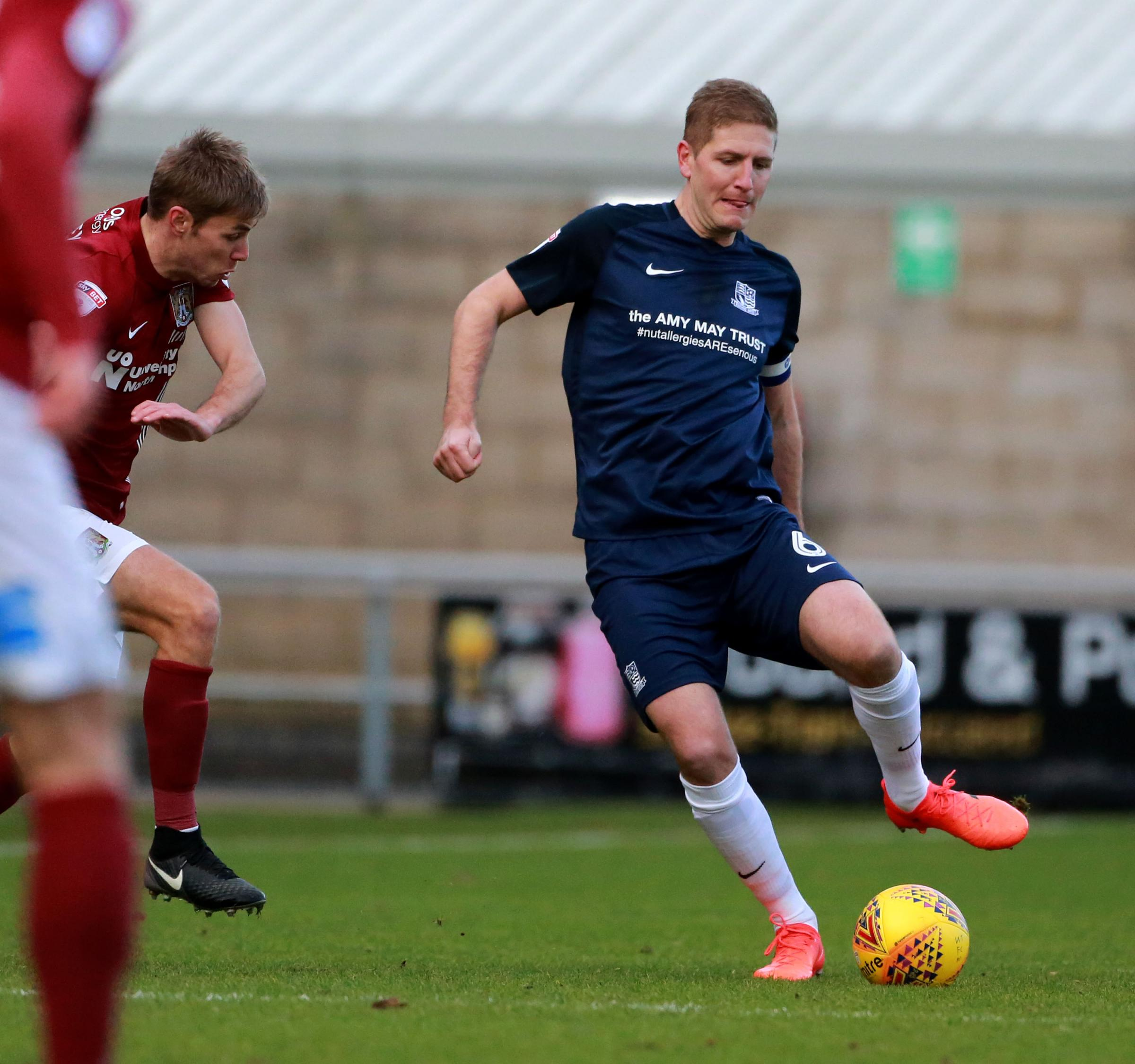 Keen to kick on - Southend United defender Michael Turner