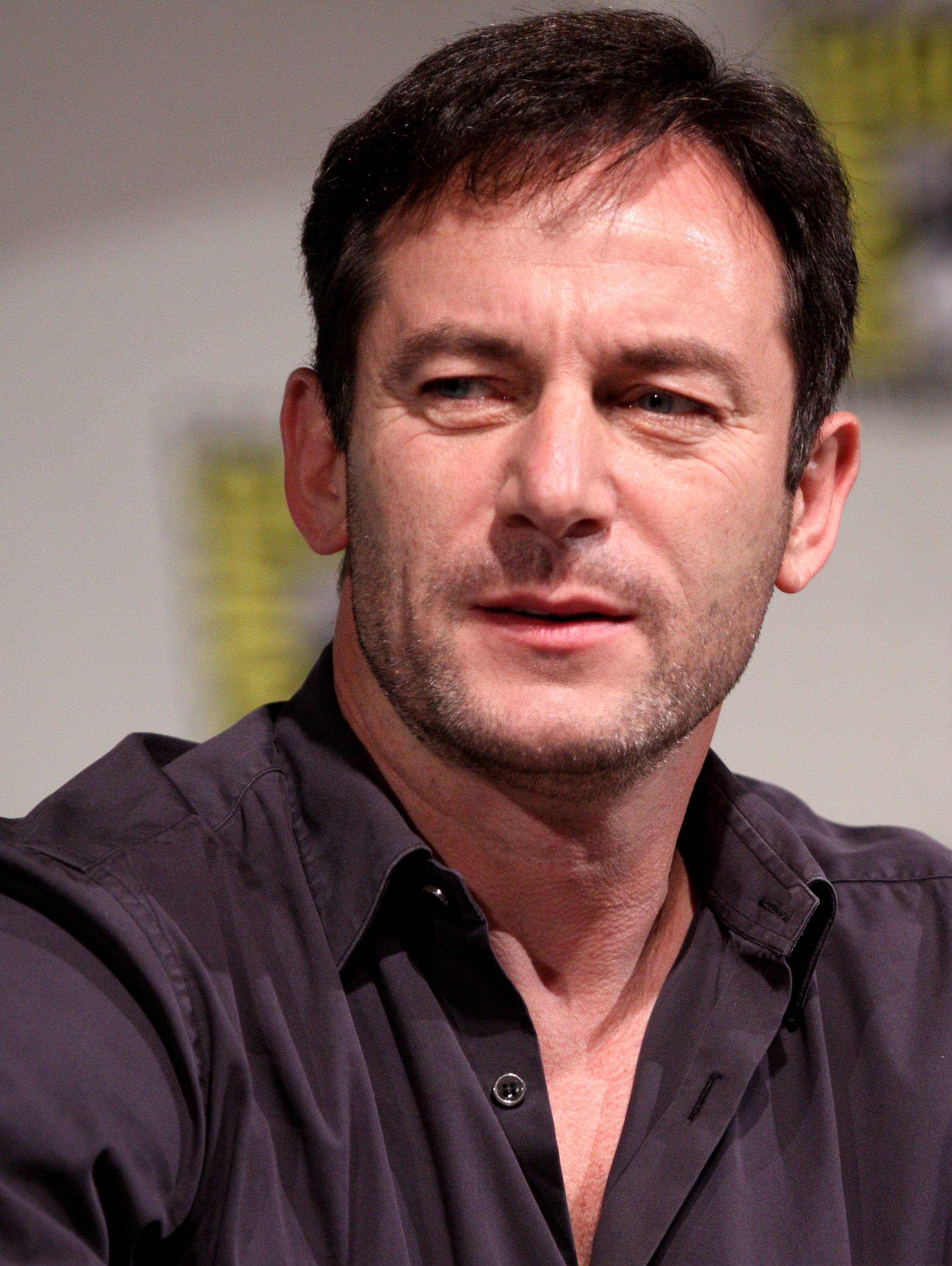Jason Isaacs, who I was watching on TV at the time