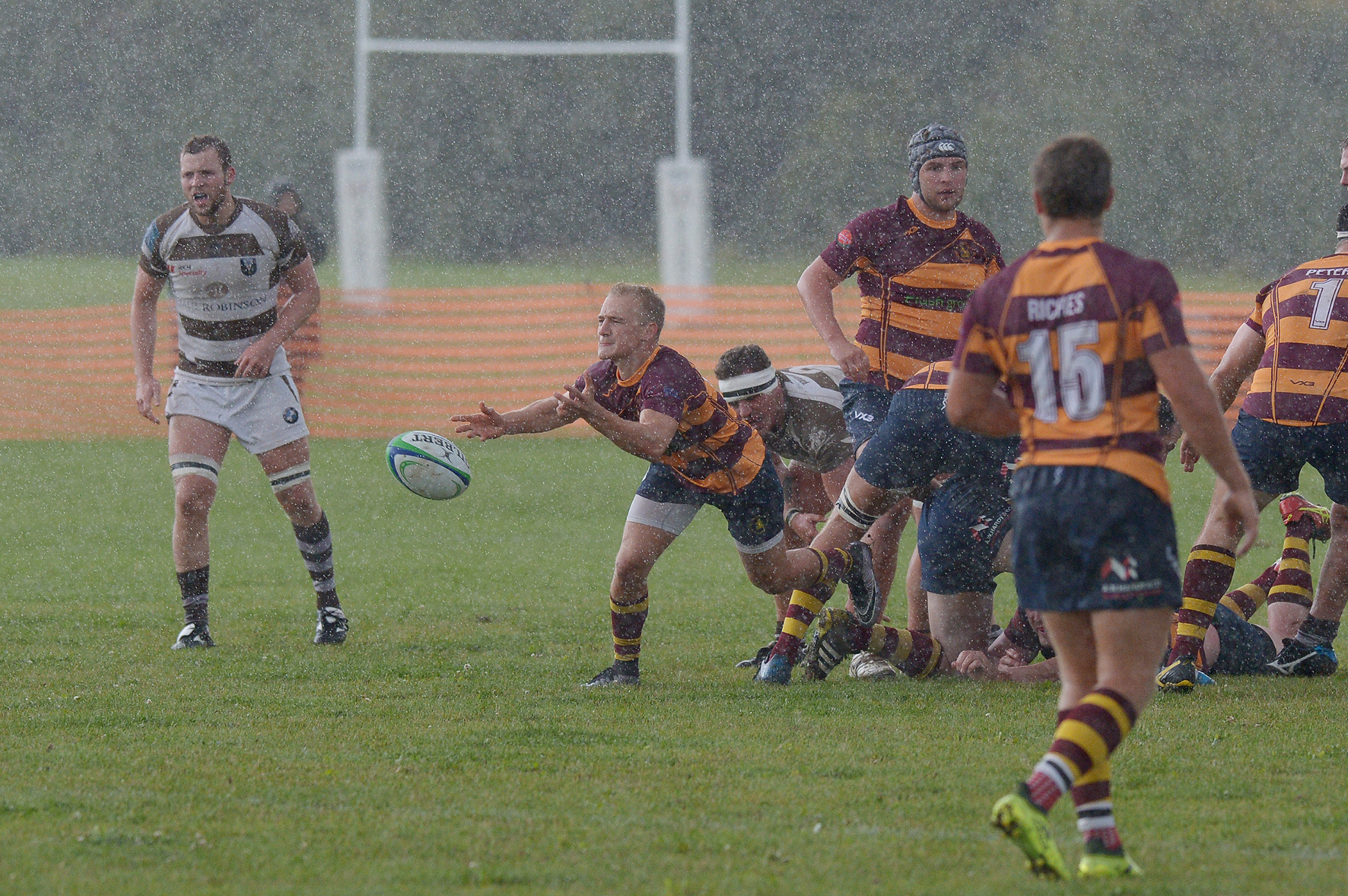 Confident - Westcliff scrum-half Harry Branch