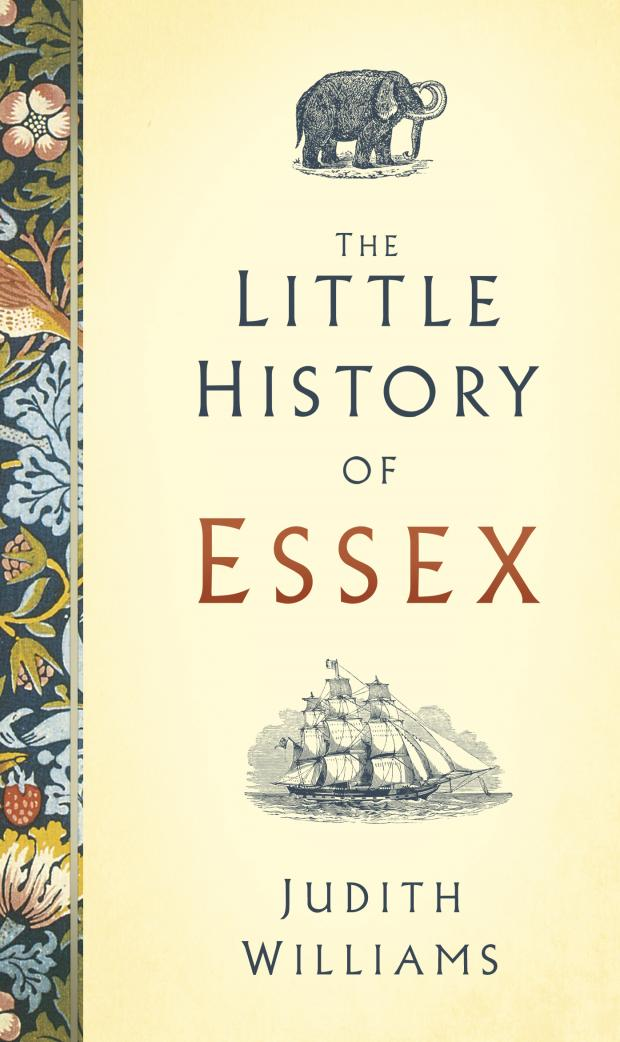 Echo: Book cover- the Little History of Essex offers a compact history of Essex's past