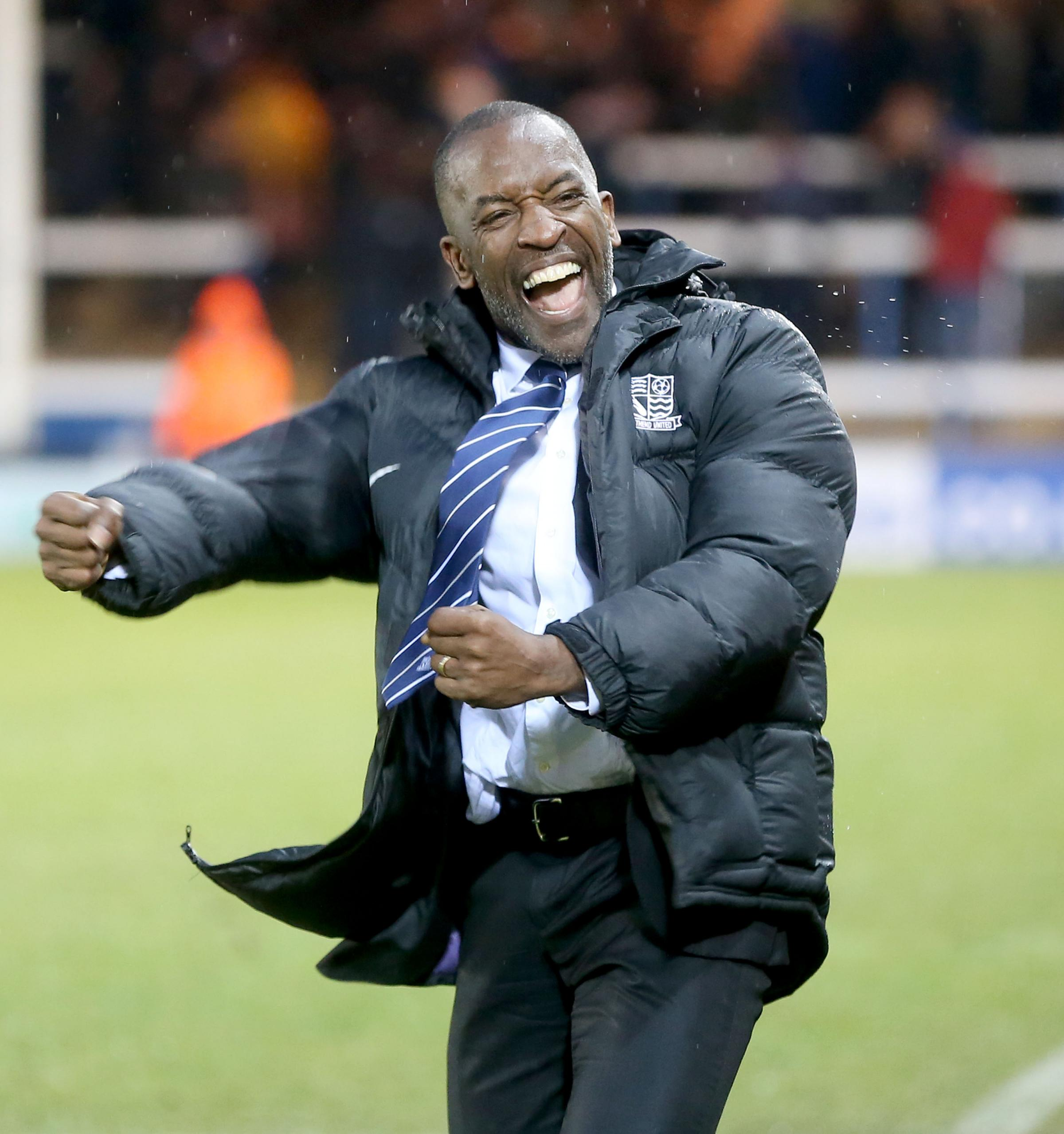 Bidding for a third straight win - Southend United manager Chris Powell