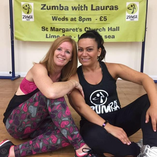 Zuma With Lauras duo - (l-r) Laura Jordan and Laura DiMartino