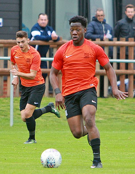 Hat-trick - Norman Wabo bagged three goals for Southend United against Aveley
