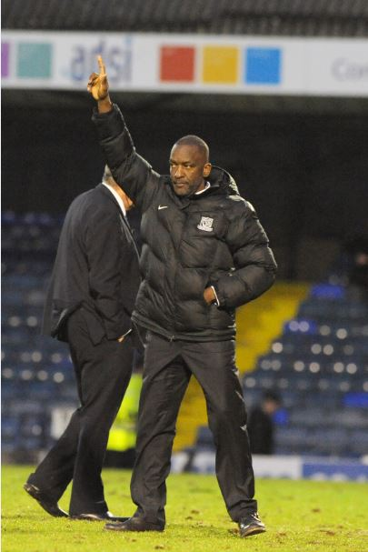 Expecting a tough test - Southend United manager Chris Powell